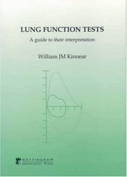 Cover of: Lung Function Tests | W. J. M. Kinnear