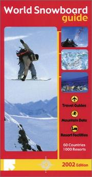 Cover of: World Snowboard Guide | Tony Brown