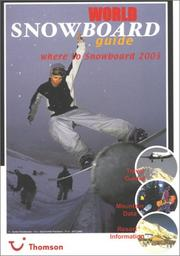 Cover of: World Snowboard Guide 2002/2003 | Tony Brown