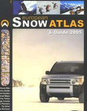 Cover of: European Snow Atlas & Guide 2005 by Tony Brown