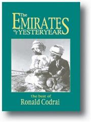 Cover of: The Emirates of Yesteryear | Ronald Codrai