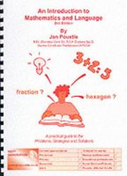 Cover of: An Introduction to Mathematics and Language (Skills) | Jan Poustie