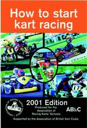 Cover of: How to Start Kart Racing by Paul Lawrence
