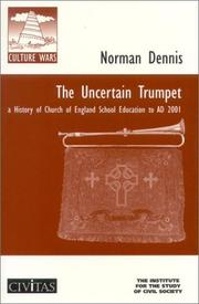 Cover of: The Uncertain Trumpet | Norman Dennis