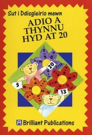 Cover of: Adio a Thynnu Hyd at 20 (How to Sparkle At.) | Moira Wilson