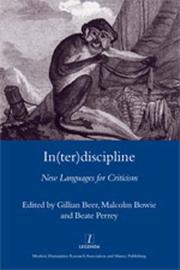 Cover of: In(ter)discipline by Gillian Beer