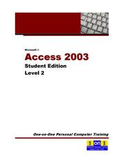 Cover of: Microsoft Access 2003 Level 2 | Chris Le Roy