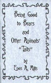 "Cover of: Being Good to Bears & Other Animals' ""Tails"" 
