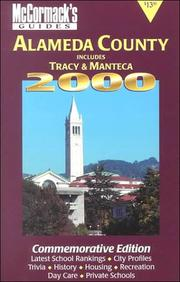 Cover of: McCormack's Guides Alameda County 2000 | Don McCormack