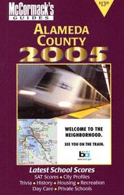 Cover of: Alameda County 2005 (McCormack's Guides) (Mccormack's Guides. Alameda County) | Don McCormack