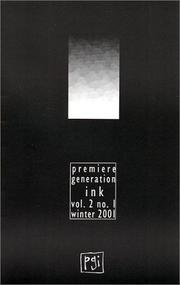 Cover of: Premiere Generation Volume 2 Number 1 Winter 2001 | Liz Rosenberg