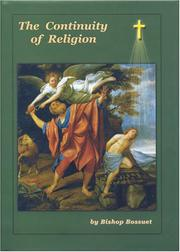 Cover of: The Continuity of Religion | Jacques Bénigne Bossuet
