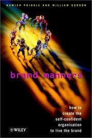 Cover of: Brand manners | Hamish Pringle