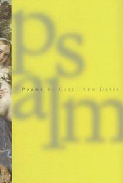Cover of: Psalm | Carol Ann Davis