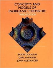 Concepts And Models Of Inorganic Chemistry Open Library