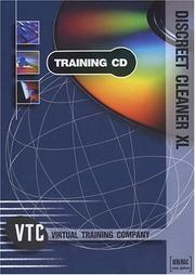 Cover of: discreet cleaner XL VTC Training CD by Brian Maxx