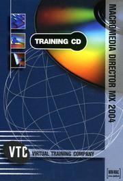 Cover of: Macromedia Director MX 2004 VTC Training CD | Brian Maxx