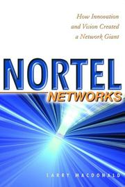 Cover of: Nortel Networks | Larry MacDonald