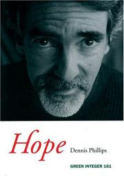 Cover of: Hope by Dennis Phillips