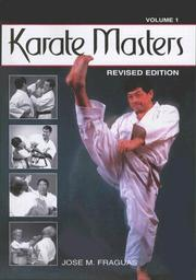 Cover of: Karate Masters | Jose Fraguas