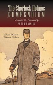 Cover of: The Sherlock Holmes Compendium | Peter Høeg