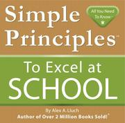 Cover of: Simple Principles to Excel at School | Alex Lluch