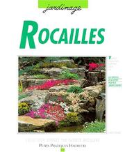 Cover of: Rocailles | Almuth Scholz