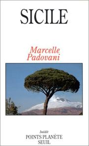 Cover of: Sicile by Marcelle Padovani