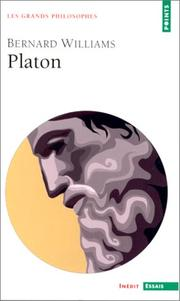 Cover of: Platon | Bernard Williams
