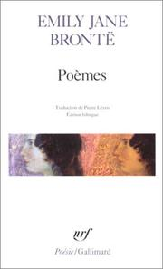Cover of: Poèmes | Emily Brontë