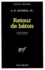 Cover of: Retour de baton | Guthrie