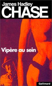 Cover of: Vipère au sein | James Hadley Chase