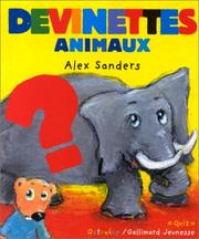 Cover of: Devinettes. Animaux | A. Sanders