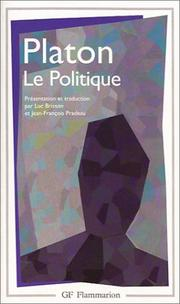 Cover of: Le politique | Plato