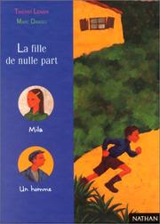 Cover of: La fille de nulle part | Marc Daniau