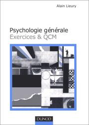 Cover of: Psychologie générale by Lieury