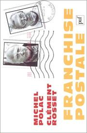 Cover of: Franchise postale by Clément Rosset