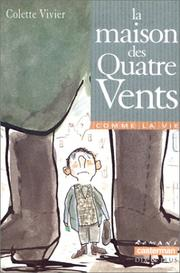 Cover of: La maison des quatre vents | Vivier