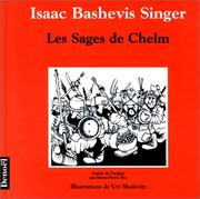 Cover of: Les Sages de Chelm | Uri Shulevitz