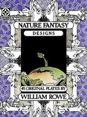 Cover of: Nature Fantasy Designs | William Rowe