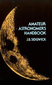 Cover of: Amateur astronomer's handbook by Sidgwick, J. B.
