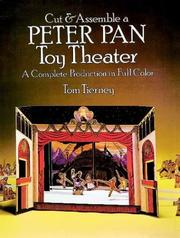 Cover of: Cut & Assemble a Peter Pan Toy Theater (Models & Toys) by Tom Tierney