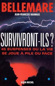 Cover of: Survivront-ils ? | Pierre Bellemare