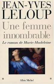 Cover of: Une femme innombrable | Jean-Yves Leloup