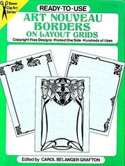 Cover of: Ready-to-Use Art Nouveau Borders on Layout Grids | Carol Belanger Grafton