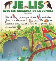 Cover of: Je lis avec les animaux de la jungle by Yvette Barbetti