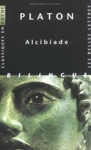 Cover of: Alcibiade (cp4) by Plato