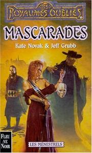 Cover of: Mascarades by Kate Novak