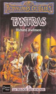 Cover of: Tantras, la trilogie de Savatars, tome 2 by Richard Awlinson