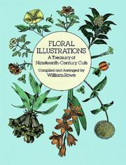 Cover of: Floral illustrations | William Rowe